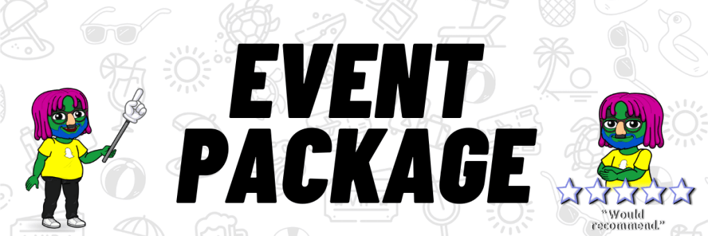 zante event packages