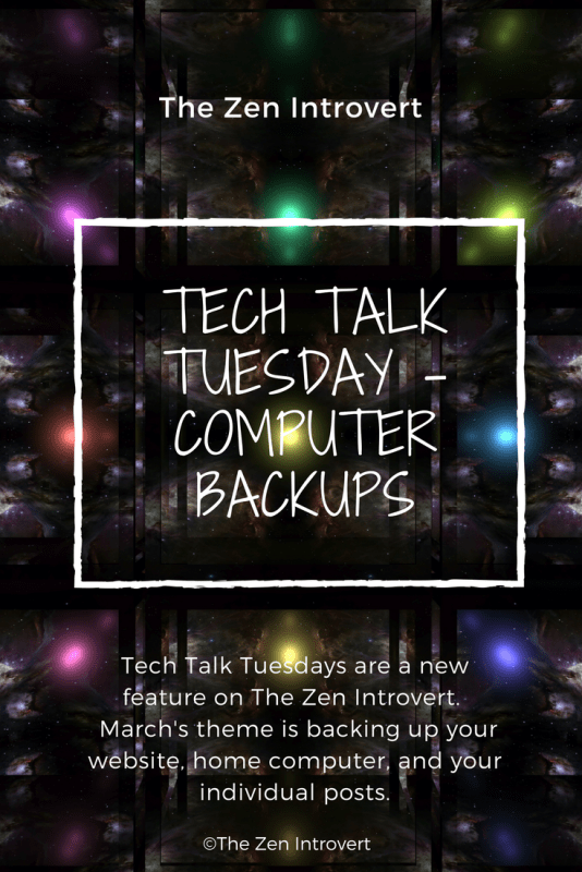 Tech Talk Tuesday - Computer Backups