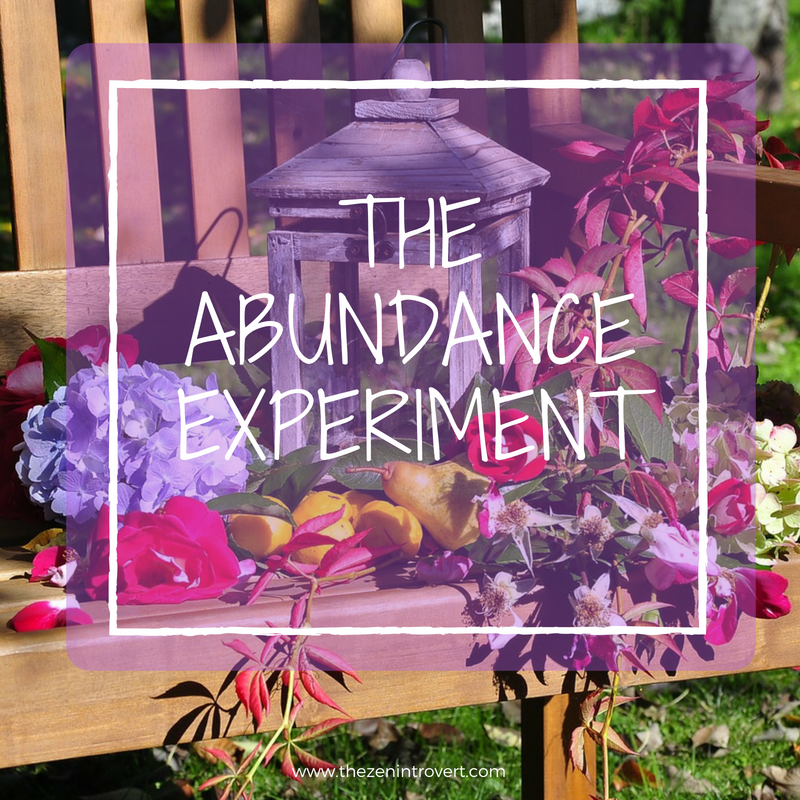 Each of us creates or manifests our own abundance in life.