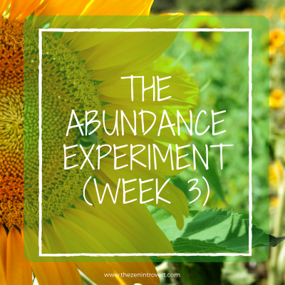 We manifest the abundance in our lives.