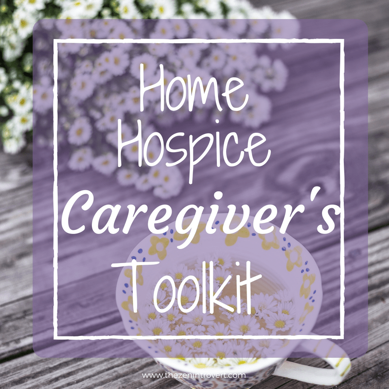 Having a supply of common and uncommon tools for home hospice care makes a difference in how prepared you feel to face day to day challenges.