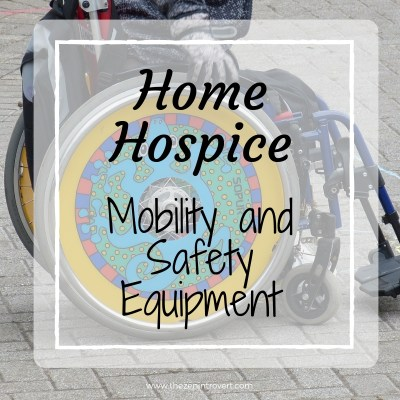 Colorful wheelchair - home hospice mobility and safety care