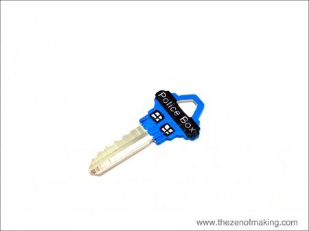 TARDIS key DIY