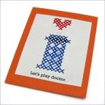 Pattern: TARDIS Cross-Stitch Valentine | The Zen of Making