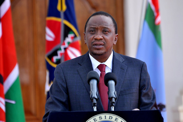 Uhuru Kenyatta sworn in for second term as Kenyan president
