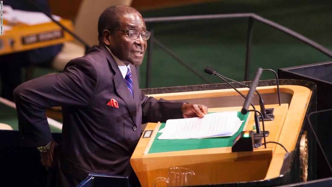 Zimbabwe's Mugabe proclaims voter registration dates