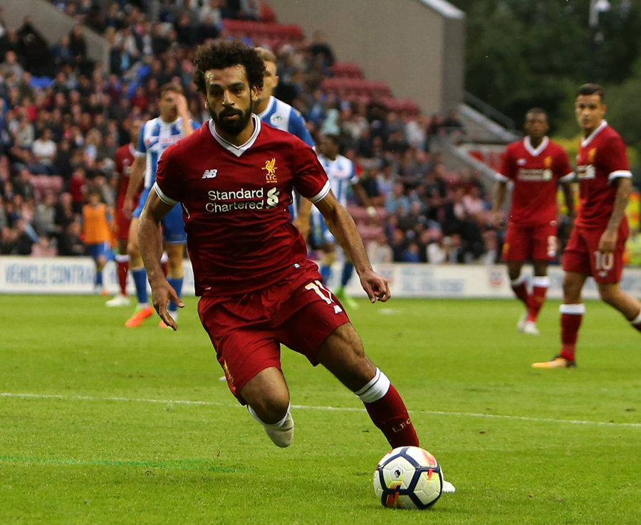 Pele sends message to Liverpool star Mohamed Salah on Twitter