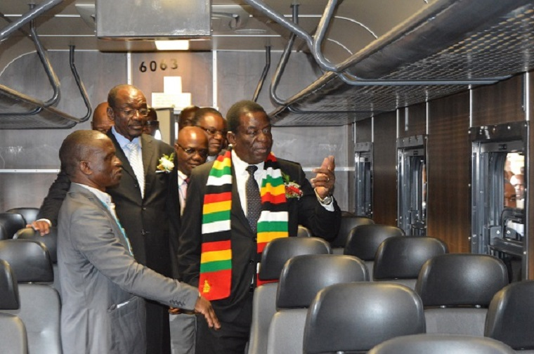 Zimbabwe gov't targets revival of rail sector - Mnangagwa