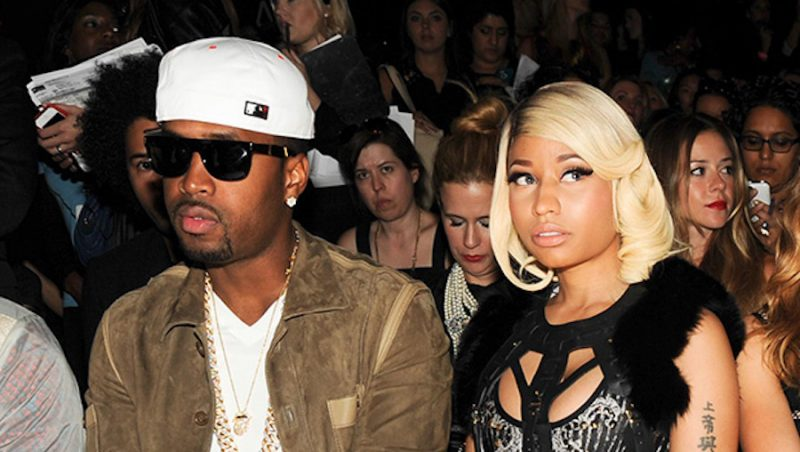 Samuels dated Minaj