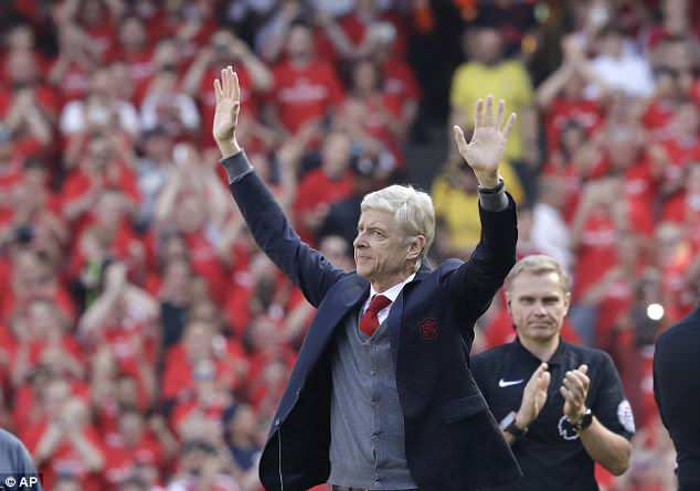 Arsene Wenger says goodbye to Arsenal fans: 'I will miss you'