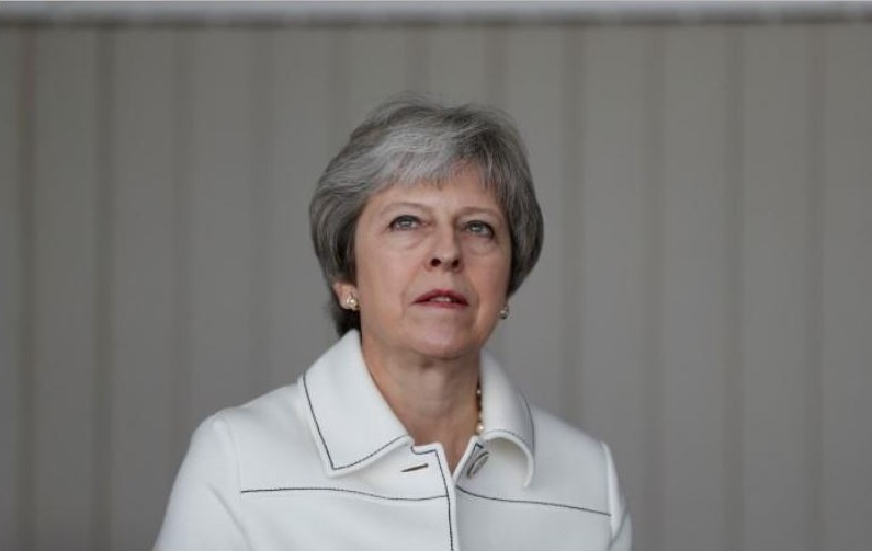 British PM Theresa May facing potential pincer movement on Brexit