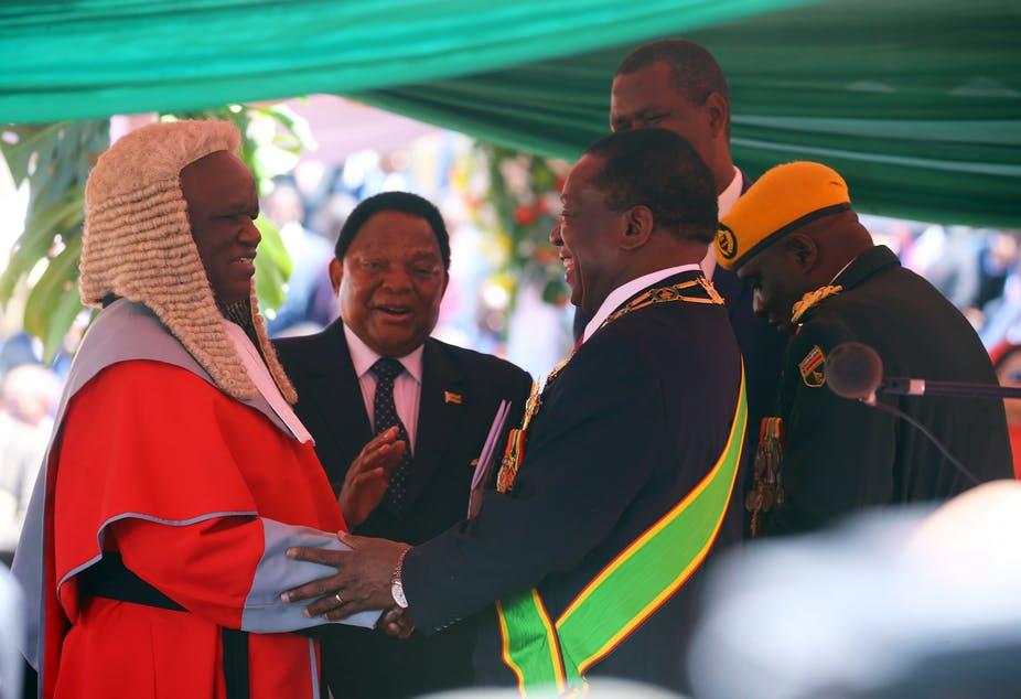 Mnangagwa – Inauguration