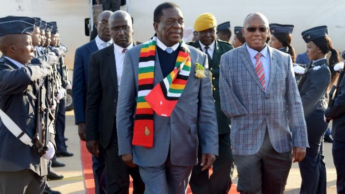 Mnangagwa and another guy
