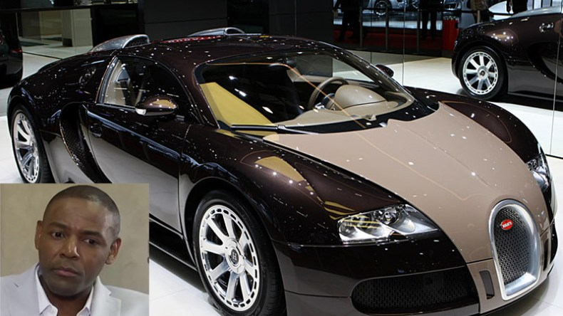 Buyanga Moves His Bugatti From Zim To Sa 3m Motor Turns Heads In