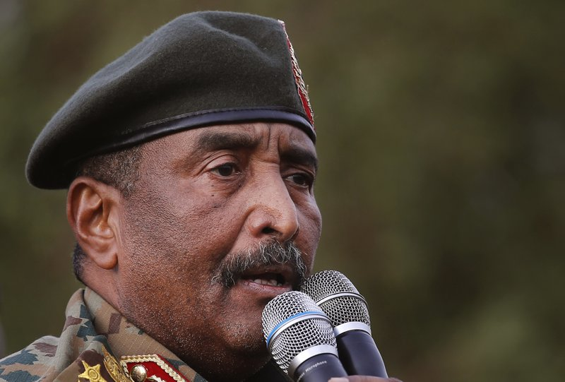 Sudan El general Abdel-Fattah Burhan