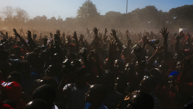 MDC Supporters protest