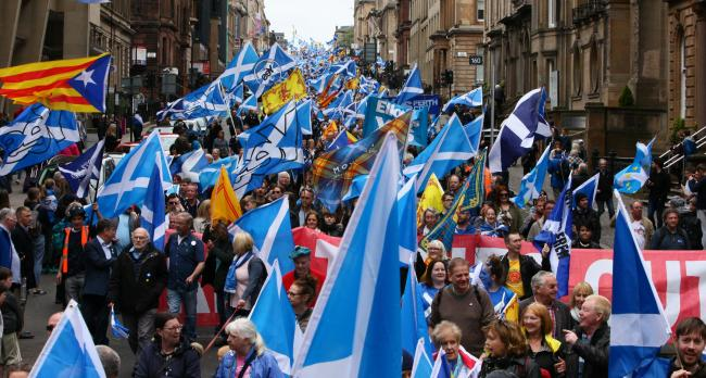 Majority of Scots now in favour of independence