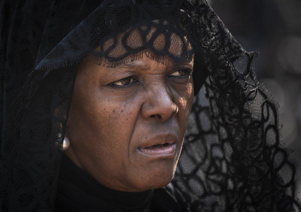 Grace Mugabe – mourning widow