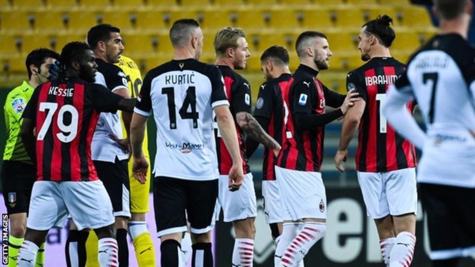 Zlatan sent off, again as AC Milan beat Parma – The ...