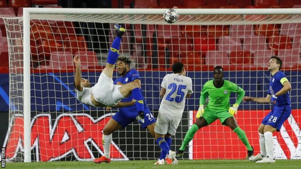 Chelsea beat Porto to reach Champions League semi-final ...