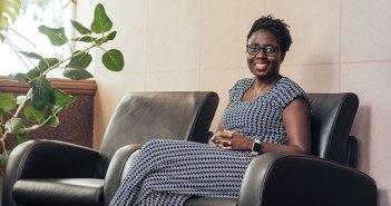 Ecocash chief executive, Natalie Jabangwe
