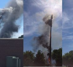 Watch: 5G network towers burnt down in UK, suspected of causing covid-19 deaths