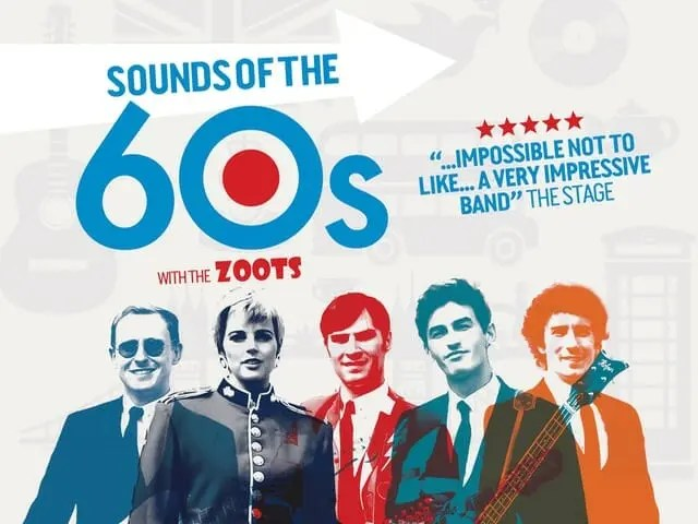 Sounds of the sixties show, 60s tribute band