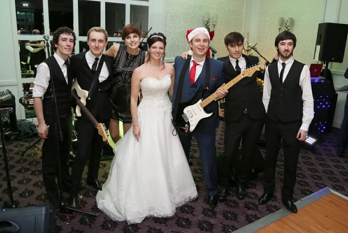 The Zoots band performing at Dan and Kellys wedding at Bailbrooke House Wedding venue Devon, Wedding band for hire, Band for my wedding, The Zoots, jamie Goddard, Winter wedding, Wiltshire Wedding Band, Wedding Band Somerset, Wedding band in Bath,, Your digital memories wedding photographers