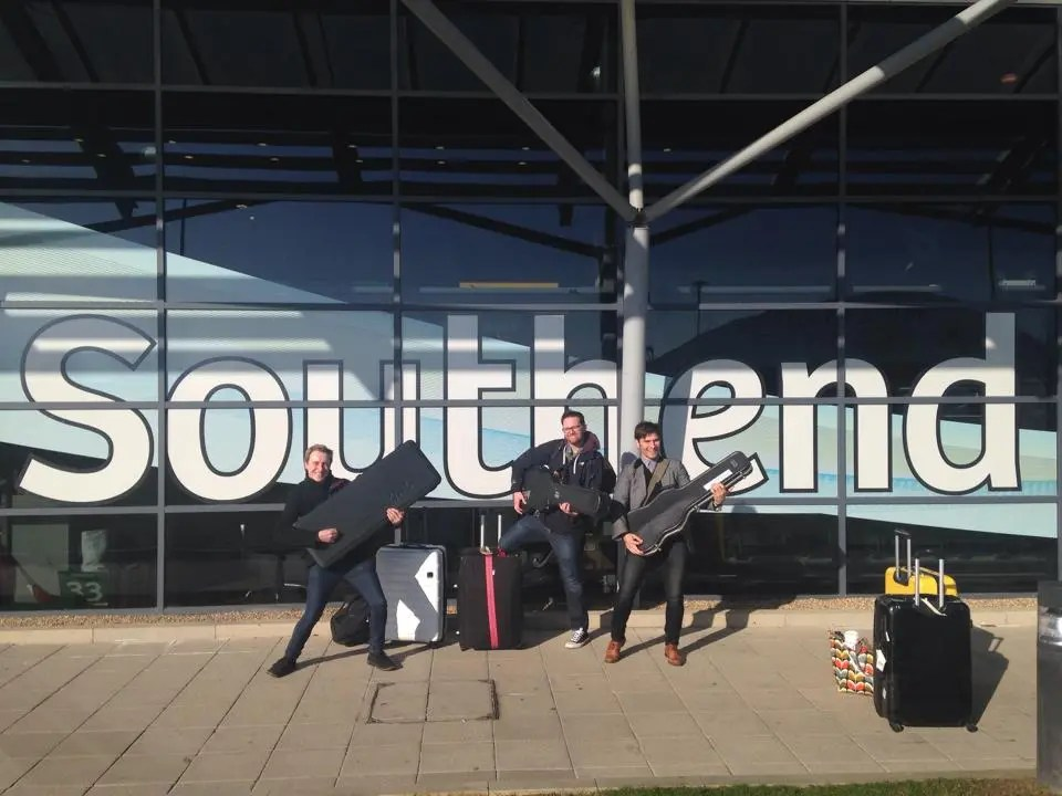 The Zoots band at Southend Airport