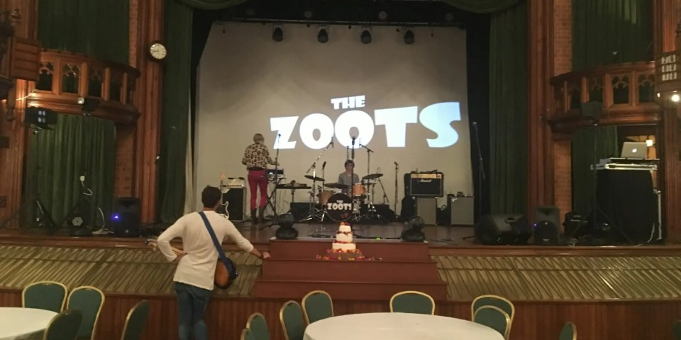 The Zoots wedding band Cheltenham
