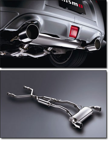 nismo s tune exhaust system 09 20 370z
