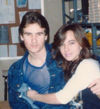 James and Karen in 1986
