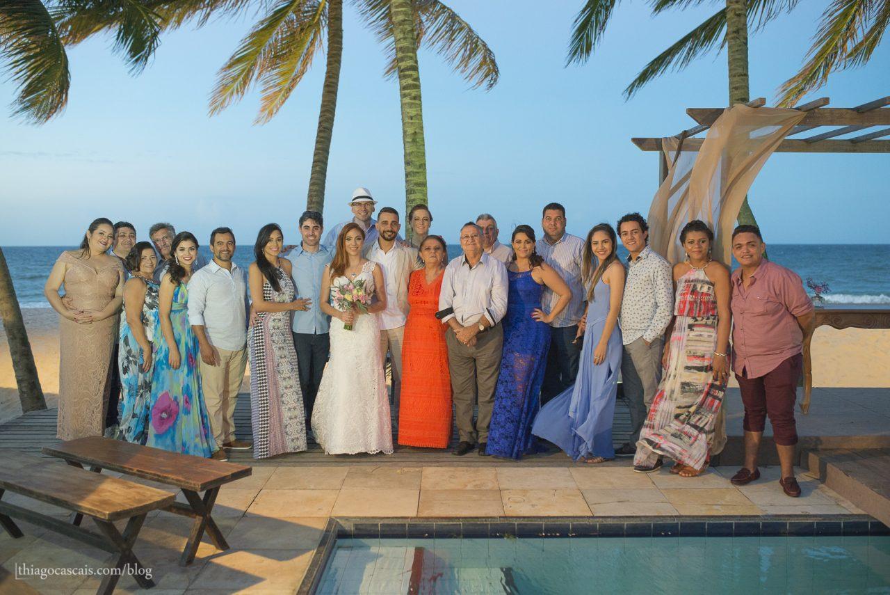 Fotografia de Casamento na praia da tabuba buffet solarium tabuba por Thiago Cascais (78)