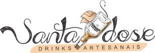 Logotipo para bar Santa Dose Drinks