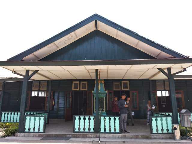 Salles du kraton de Yogyakarta