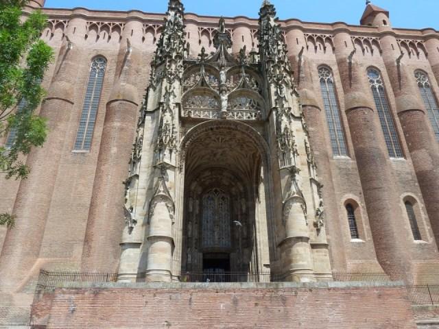 porche de la cathédrale d'Albi
