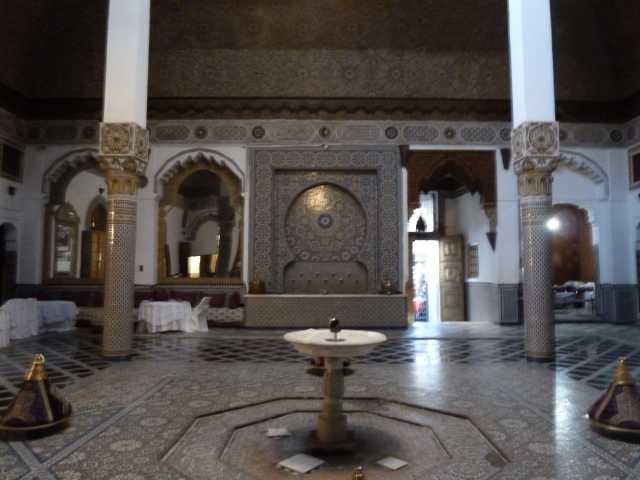 intérieur du palais Mnebhi
