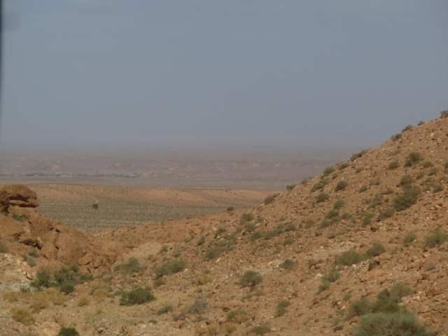 Une vue sur l'ECWP depuis le djebel Missour à plus d'une heure de marche