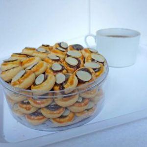 tumberin coklat almond