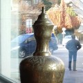 Egyptian Vase at Pyramids restaurants in Zurich