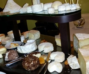 Regional cheeses at Chapeau Rouge