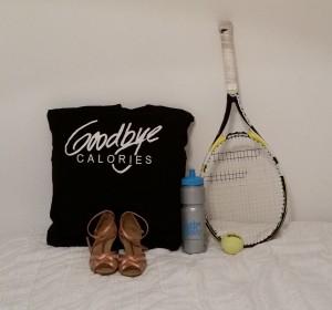 goodbye calories - tennis and dancing
