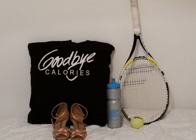 goodbye calories - tennis and dancing