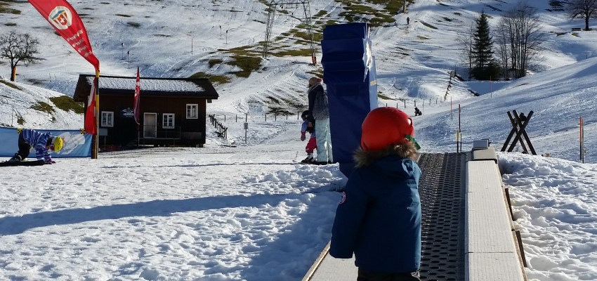 Oberiberg, a very child friendly ski resort near Zurich