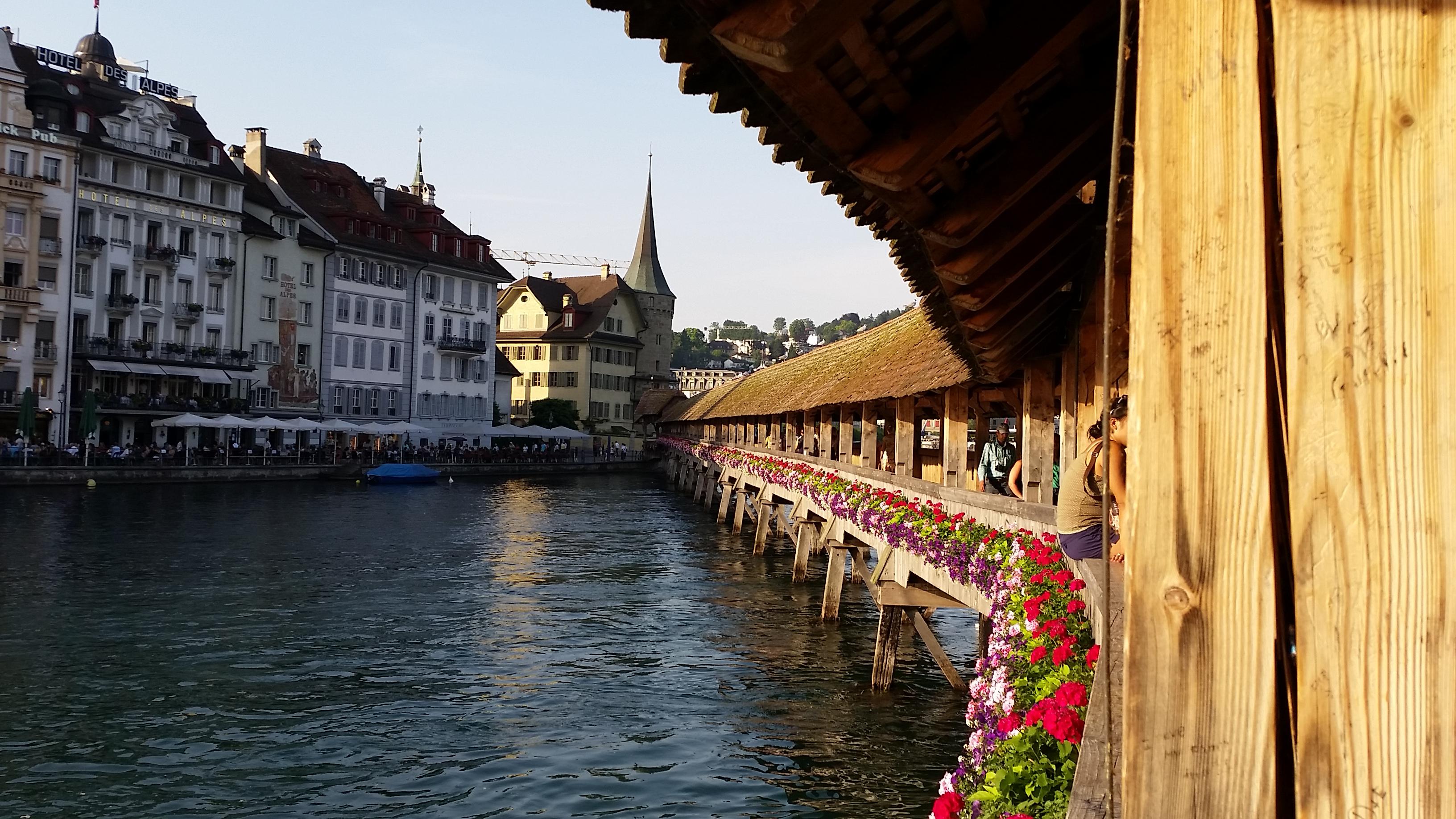 Luzern Switzerland with children