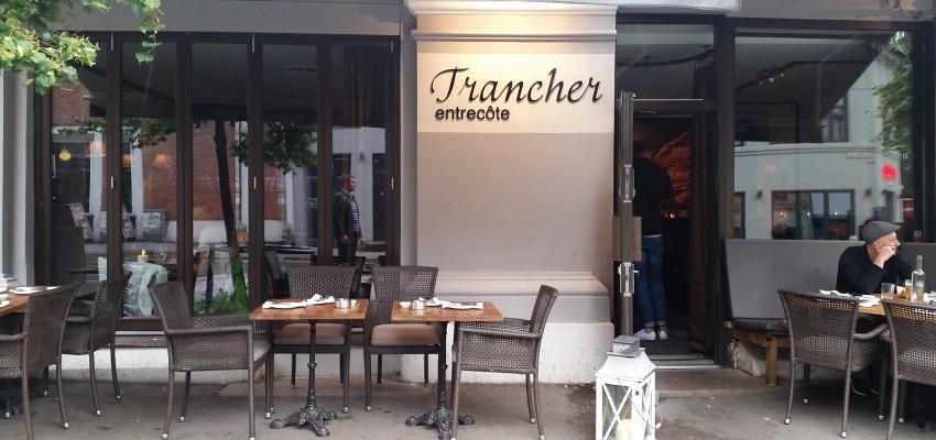 Trancher Entrecote restaurant in Oslo: FAIL