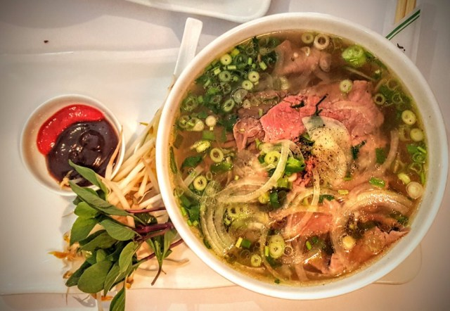 pho lunch in Oslo