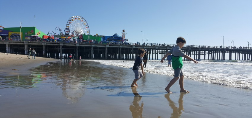 USA with children: Los Angeles, Santa Monica and Universal City Walk