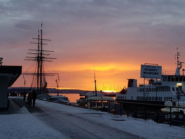 Living in Oslo in December
