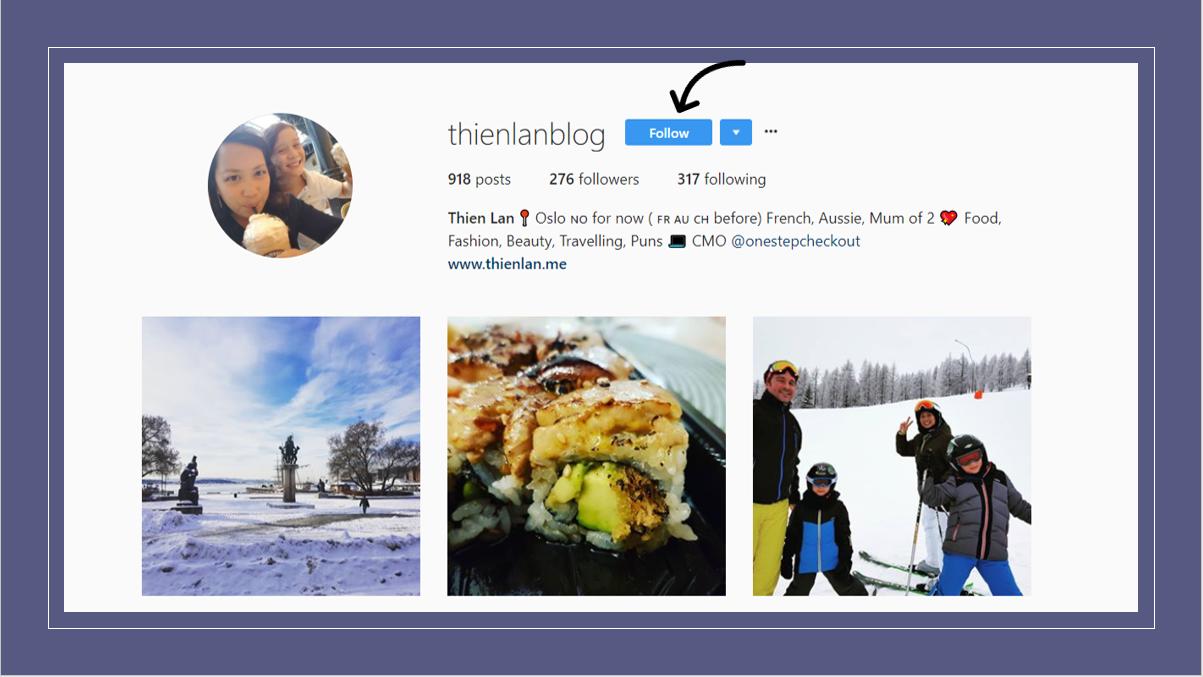 TL blog instagram